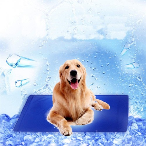 Pet Furniture Accessories Dog Cool Gel Cooling Pad Dog Pet Cooling Mat Pet Ice Bed