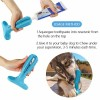 Non-Toxic natural rubber FDA Silicone Dog Teeth Cleaning Toothbrush Stick with mint flavor