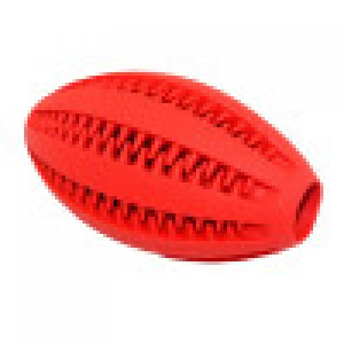 New Eco-Friendly Rubber Special Leakage Food Chew Ball Design Dog Treat Toy Ball,Dental Fun Mintfresh Rugby Ball.