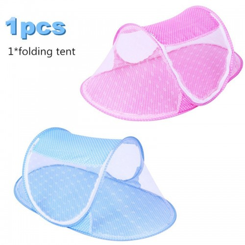Baby Crib Netting Portable Foldable Baby Bed Mosquito Net Polyester Newborn Sleep Bed