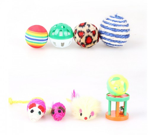 12 pack cat interactive toy big assorted gifts set