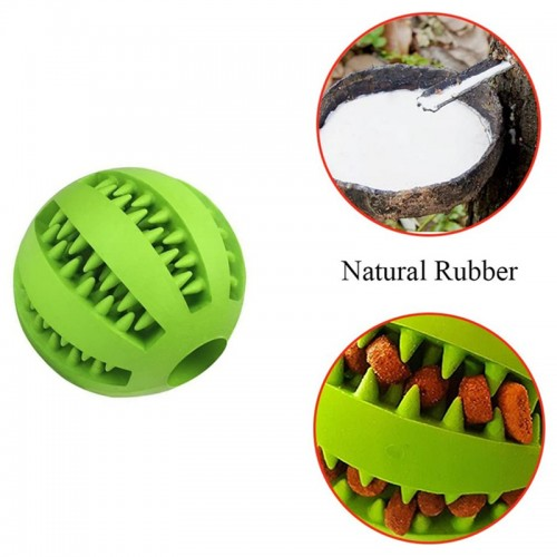 Popular Pet Rubber Toys Cleaning Balls Leaking Food Ball Molars Bite-Resistant Tooth Care Dog Toys puzzle hard rubber throw balls dog treat dispensing toy