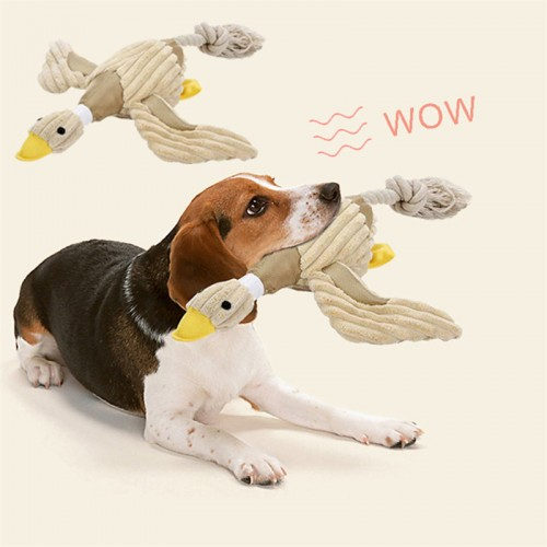 Custom plush Small Large Dogs Bite Resistant Chew Toys