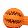 pet chew pet toy dog clean teeth molar rubber plug snack toy dog rubber ball
