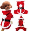 Pet Christmas Costumes Dog Costumes Suitable for Small Dogs Fall Winter Jackets Puppy Cat Hoodie