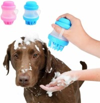 Pet Bath Brush Silicon Brush for Massaging