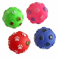 Dog ball toys squeaky manufactures pet ball Exercise Ball dog chew toy