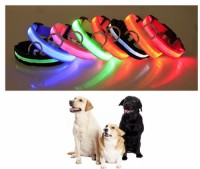 Wholesale Custom LOGO led flash dog collar led dog collar usb rechargeable