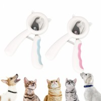 Grooming Pet Nail Clipper Professional with File Effective Anti-splash Cat Nail Clipper Dog Nail