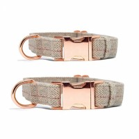 Pet Supply Soft dog collar with metal buckle pet accessoriesHot sale products