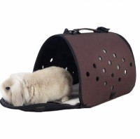 airline approved foldable portable soft-sided pet dog cat rabbit travel carrier bag