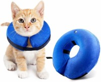 Inflatable Collars for Dogs and Cats-Soft Pet Recovery Collar does not block the sight of electronic collar