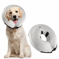 New Design Soft Protective Inflatable Recovery Anti Block Vision Anti Bite Dog Collar for Dogs and Cats