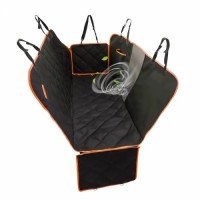 heavy-duty anti-scratch washable pet car seat full cover back seat protector