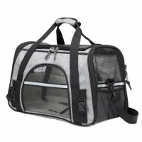 airline approved soft-sided portable pet bag travel carrier cat carrying bag