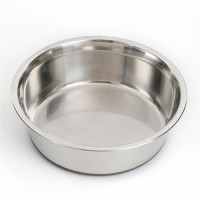 non-skid stainless steel pet dog cat bowl pet feeder with silicone bottom