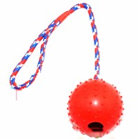Pet Food Treat Feeder Chew Tooth Cleaning Ball Non toxic Bite Resistant Toy Ball for Pets
