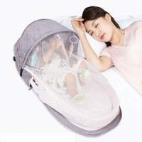 Baby Nest Bed Portable Crib Mosquito Net Travel Bed Infant Toddler Cotton Cradle for Newborn Baby Crib