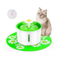 Health Caring Hygienic Automatic Dog Cat Pet Flower Water Fountain Dispenser with Filter