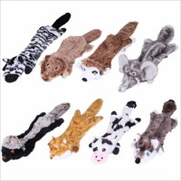 Dog squeaking toys, no stuffed pet chew toys, suitable for small and medium-sized puppies