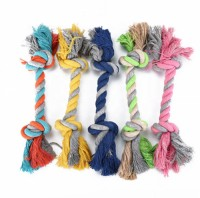 Durable Braided Bone bites knot rope chew toy for dogs