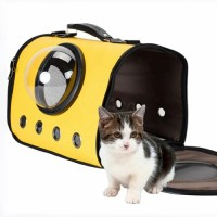 Airplane and Car Travel Dog Carriers Cataria Bubble Soft-Side Cat Pet Carrying Bag Airline Approved Foldable Dog Carrier Bag